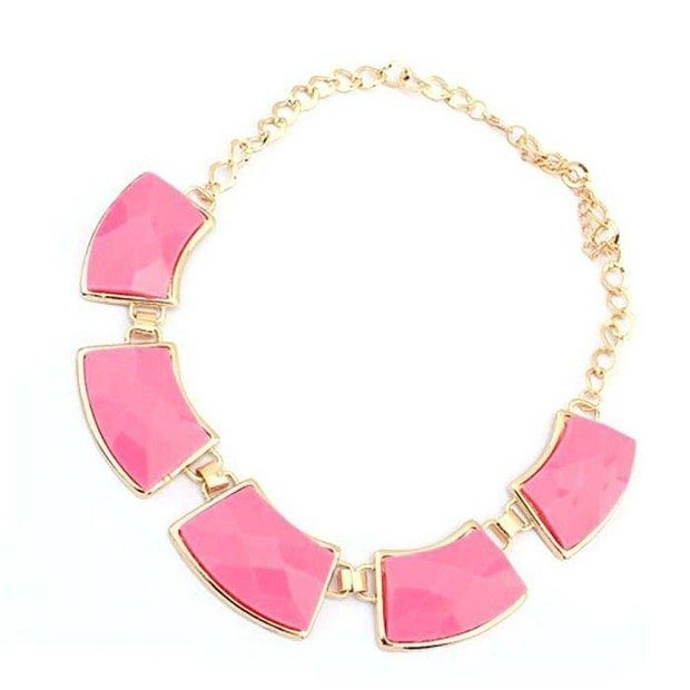 Chunky Alloy Statement Necklace Just $3.22 + $1 Shipping!