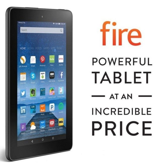 Kindle Fire, 7″ Display, Wi-Fi, 8 GB Just $34.99!!  Down From $49.99!