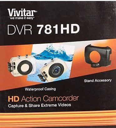 Vivitar DVR781 HD Action Camcorder Just $26.24 Down From $100!  PLUS FREE Shipping!