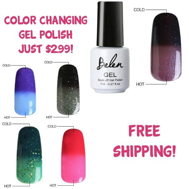 Color Changing Gel Polish