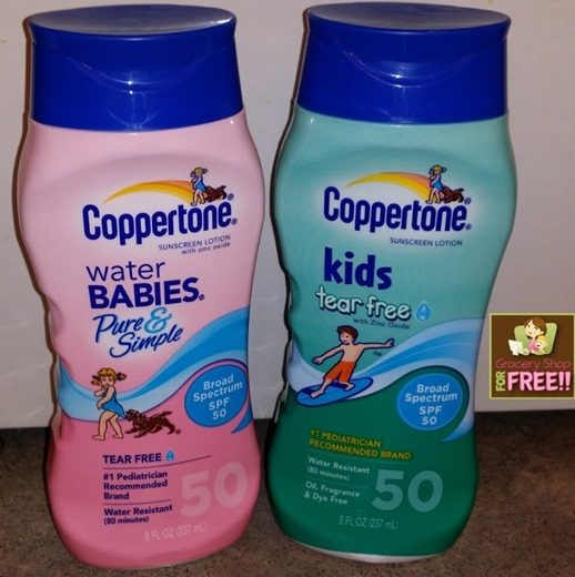 Coppertone WaterBabies & Kids Sunscreen Giveaway