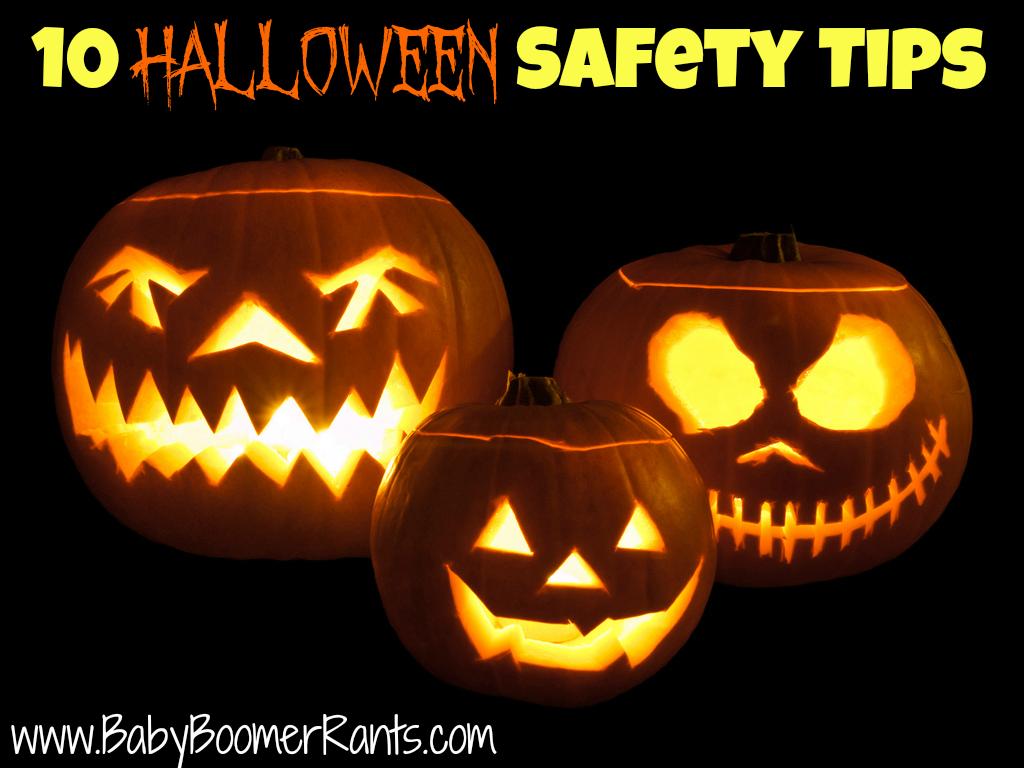 10 Halloween Safety Tips!