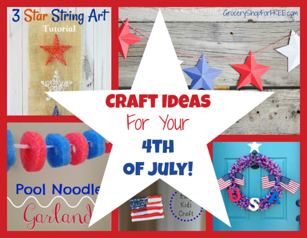 Craft Ideas  For Your  4th  Of July