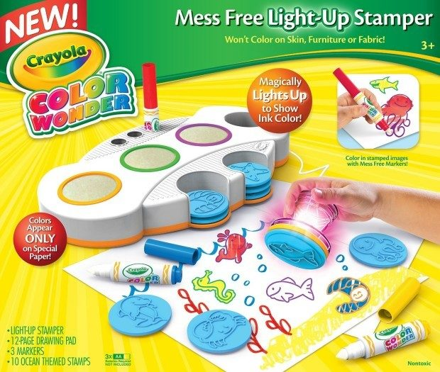 Crayola Color Wonder Light Up Stamper Just $11.98! (reg. $24.99)