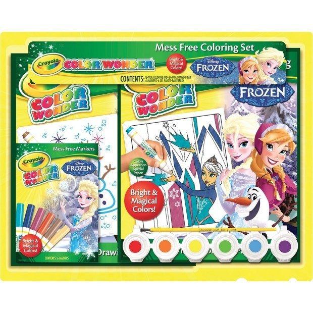 Crayola Frozen Color Wonder Activity Gift Set Was $22 Now Only $13.47!