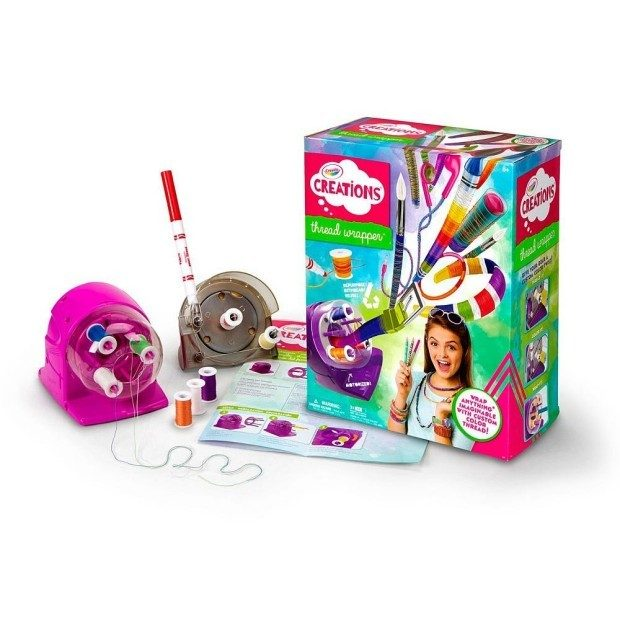 Crayola Thread Wrapper Just $7.54! (reg. $24.99)