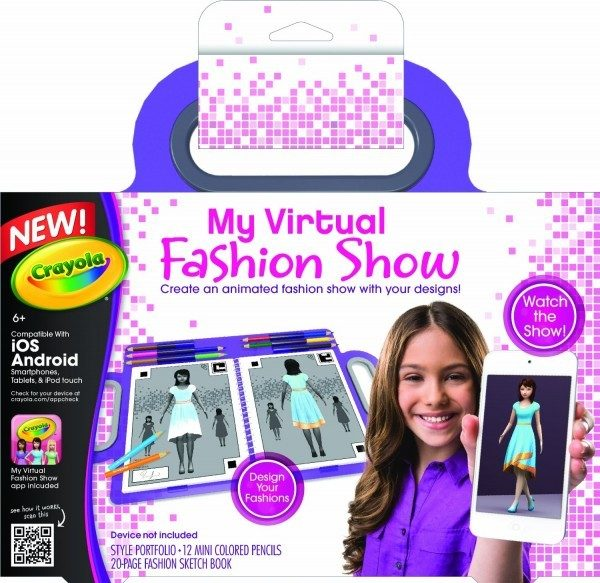 Crayola My Virtual Fashion Show Just $8.99! (reg. $19.99)