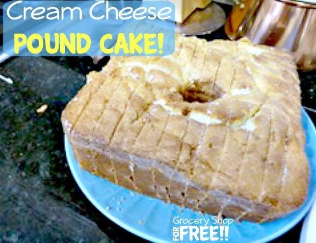 Cream Cheese Pound Cake!