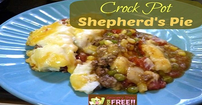 Crock-Pot Shepherd's Pie!