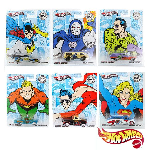 Hot Wheels DC Comics Nostalgia Collection Only $2.75 Ships FREE!