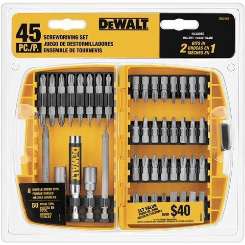 DEWALT DW2166 45-Piece Screwdriving Set