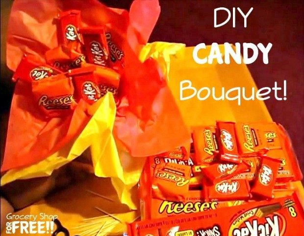 DIY Candy Bouquet!