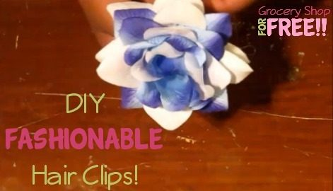 DIY Fashionable Hair Clips!