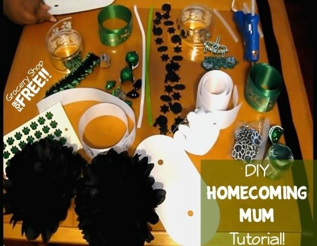 DIY Homecoming Mum Tutorial!  Texas Style!