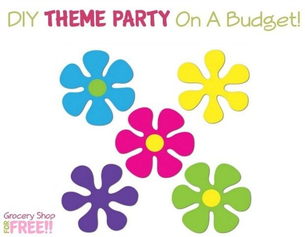 DIY Theme Party On A Budget!