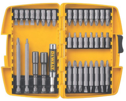 DEWALT DW2163 37-Piece Screwdriving Set With Tough Case Just $9.88!  Down From $37.46!