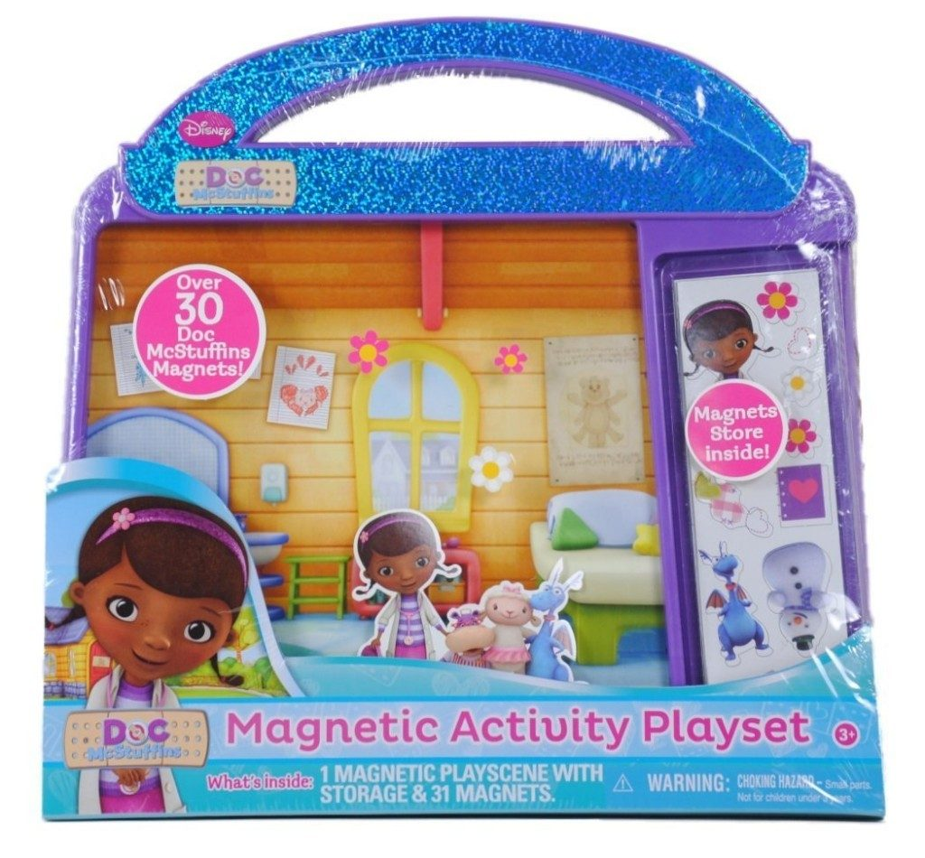 Disney Doc McStuffins Magnetic Activity Playset