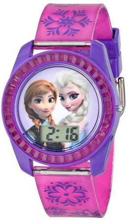 Disney Frozen Anna and Elsa Digital Watch