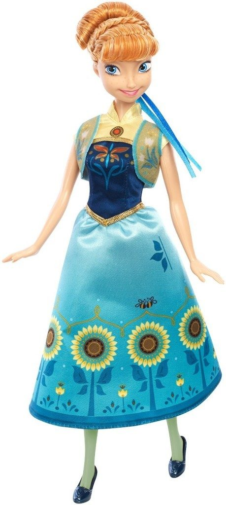 Disney Frozen Fever Anna Doll Just $11.42!