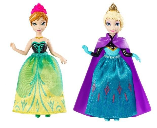 Disney Frozen Princess Sisters Celebration Anna and Elsa Small Doll Just $4.80!