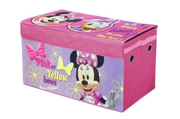 Disney Minnie Mouse Collapsible Storage Trunk $12.24 + FREE Shipping with Prime!
