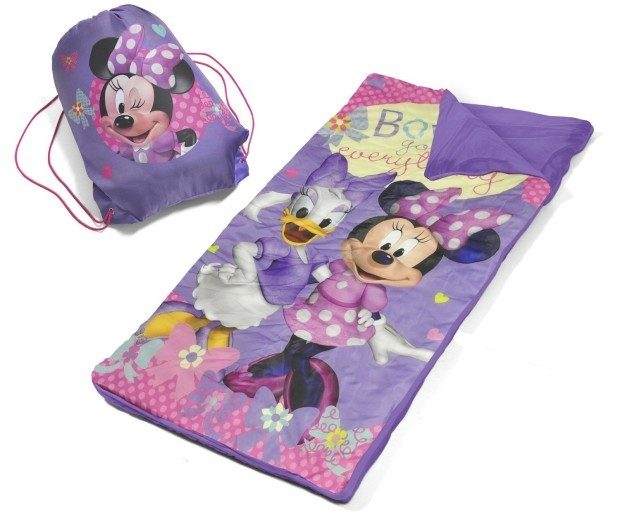 Disney Minnie Mouse Slumber Bag Set Just $9.98 + FREE Shipping with Prime!