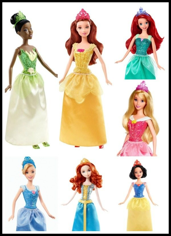 Disney Princess Sparkling Princess Dolls Only $7.15 + FREE Prime Shipping!