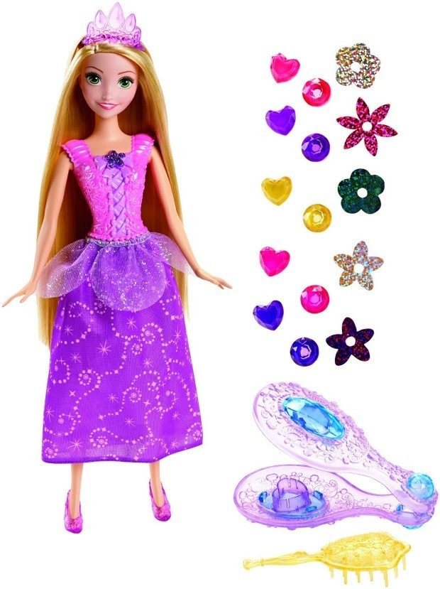 Disney Princess Tangled Gem Hair Styler Rapunzel Doll Just $9.59! (reg. $19.99)