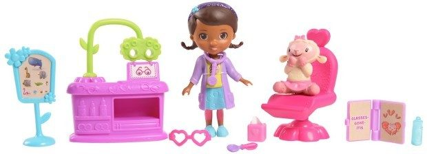 Doc McStuffins Bright Eyes Eye Doctor Play Set Just $6.98! (reg. $11.99)