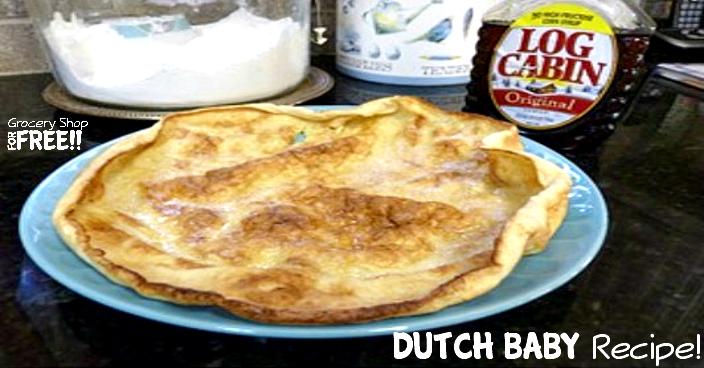 Dutch Baby Recipe!