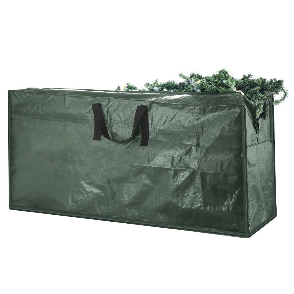 Elf Stor Premium Christmas Tree Bag Holiday Dark Green Extra Large