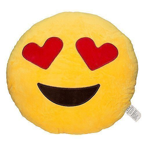 Emoji Smiley Emoticon Pillow Just $4.90 + FREE Shipping!