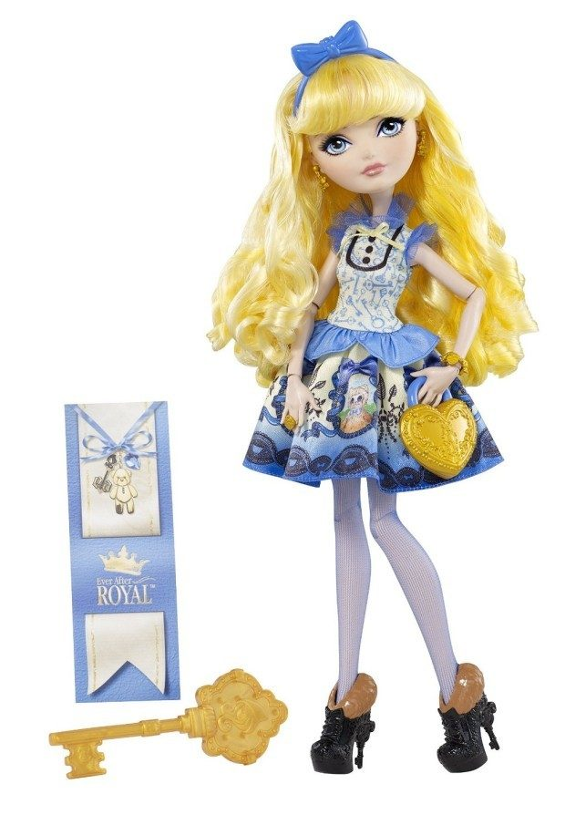 Ever After High Blondie Lockes Fashion Doll $9.94 + FREE Shipping with Prime! (reg. $21.99)