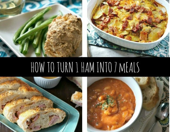 Save Money With These 7 Recipes From 1 Ham!