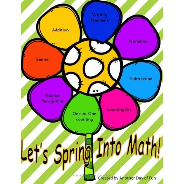 FREE Spring Math Set Preview!