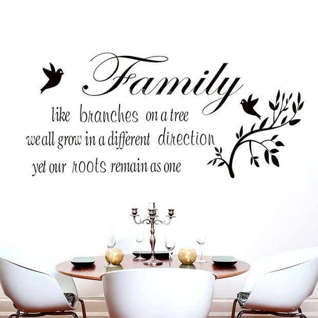 Family Like Branches Vinyl Wall Quote Just $3.25 + FREE Shipping!