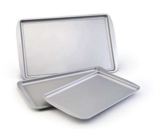 Farberware Nonstick Bakeware 3-Piece Cookie Pan Value Set Just $9.99!