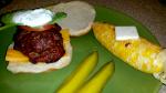 Feta Stuffed Greek Burgers On The Grill With Tzatziki Sauce