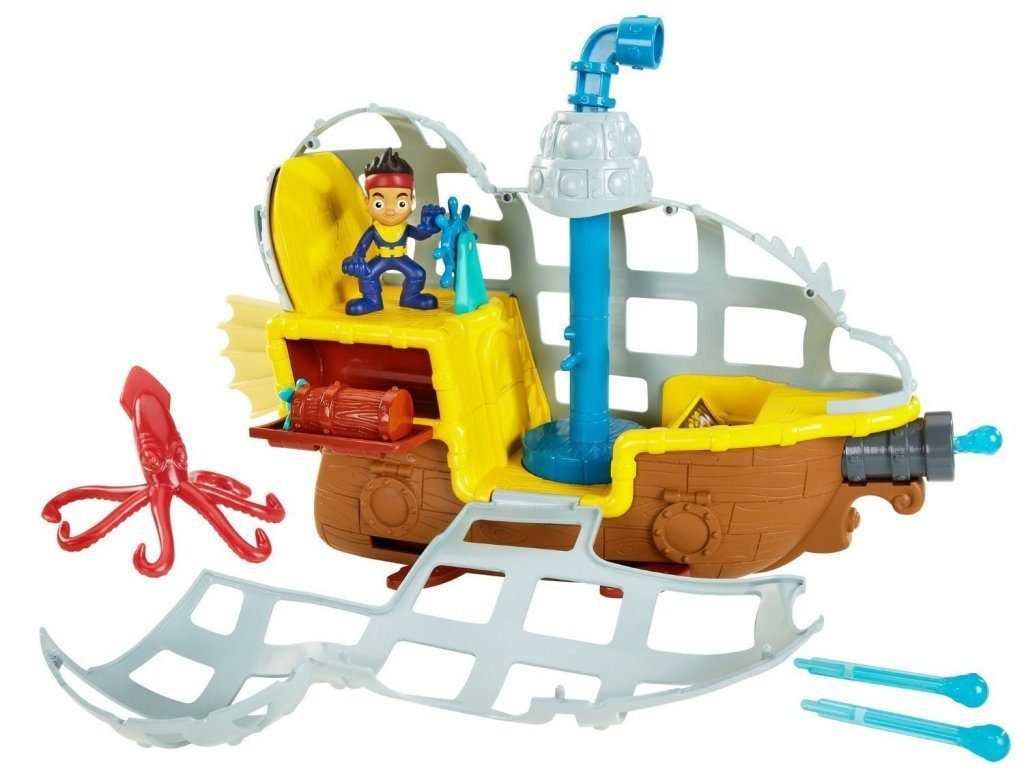 Fisher-Price Disney Jake and The Never Land Pirates Rolling Submarine Bucky