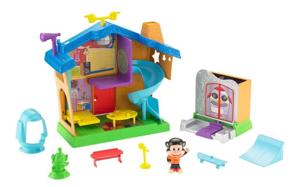 Fisher-Price Julius Jr. Rock 'n Playhouse Box
