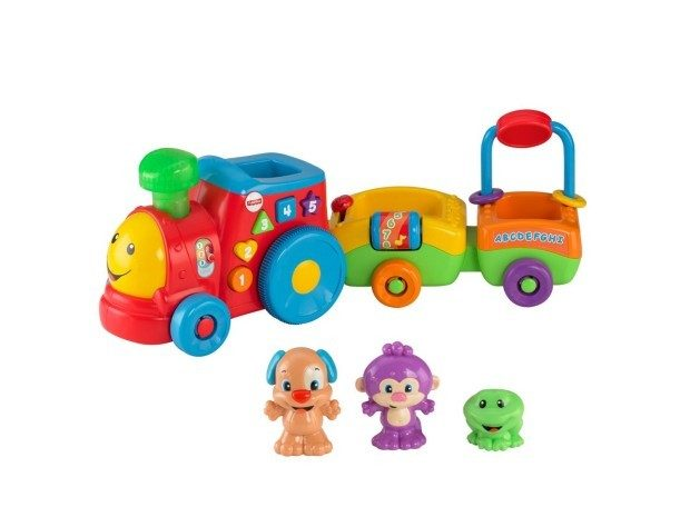 Fisher Price Laugh & Learn Puppy's Smart Train Only $15!  Reg. $35!
