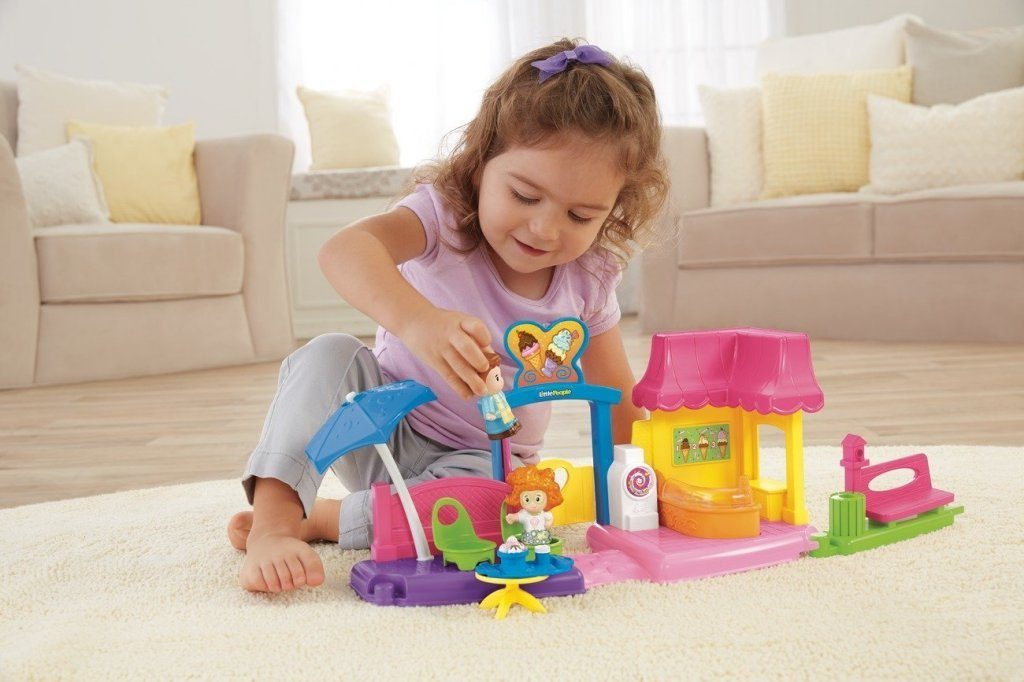 Fisher-Price Little People Ice Cream Shop Just $10 Down From $20!