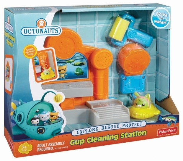 Fisher-Price Octonauts Gup Cleaning Station Just $5.12! (reg. $16.99)