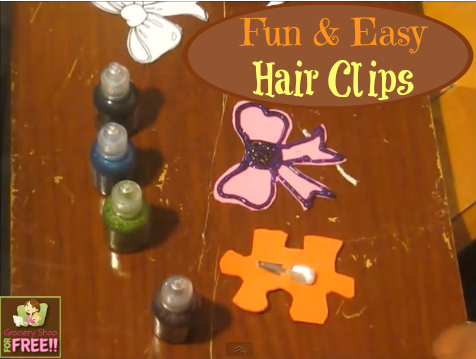 Fun And Easy Hair Clips