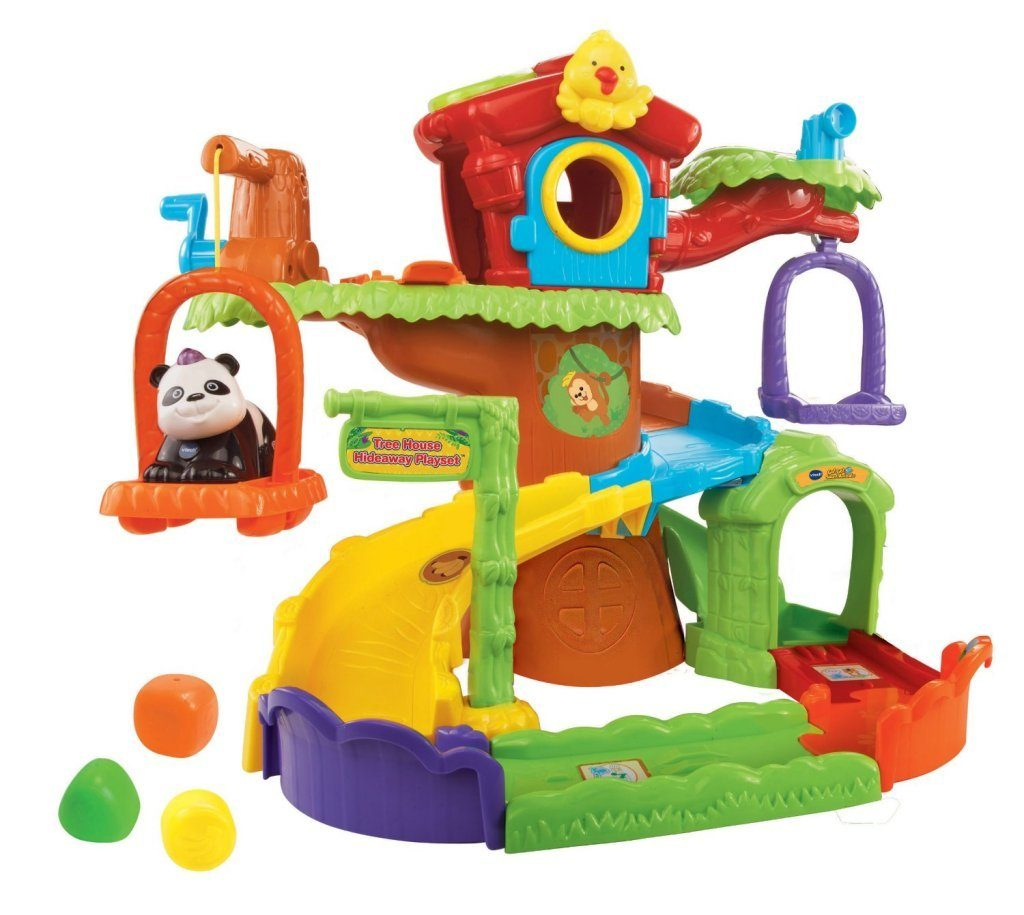 Go! Go! Smart Animals Tree House Hideaway Playset