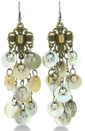 Gold Tone Filigree Chandelier Earrings Only $7.99 (Reg. $50) + FREE Prime Shipping!