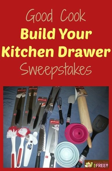 Good Cook Build Your Kitchen Drawer Sweepstakes