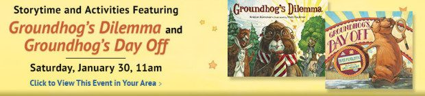 FREE Groundhog Storytime At Barnes & Noble On Saturday, 1/30!