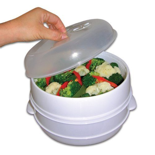 2 Tier Microwave Steamer Just $8.34!