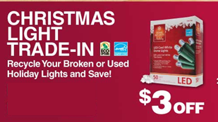 Home Depot Holiday Light Exchange